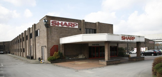 The Sharp Project in the old Sharp Electronics warehouse
